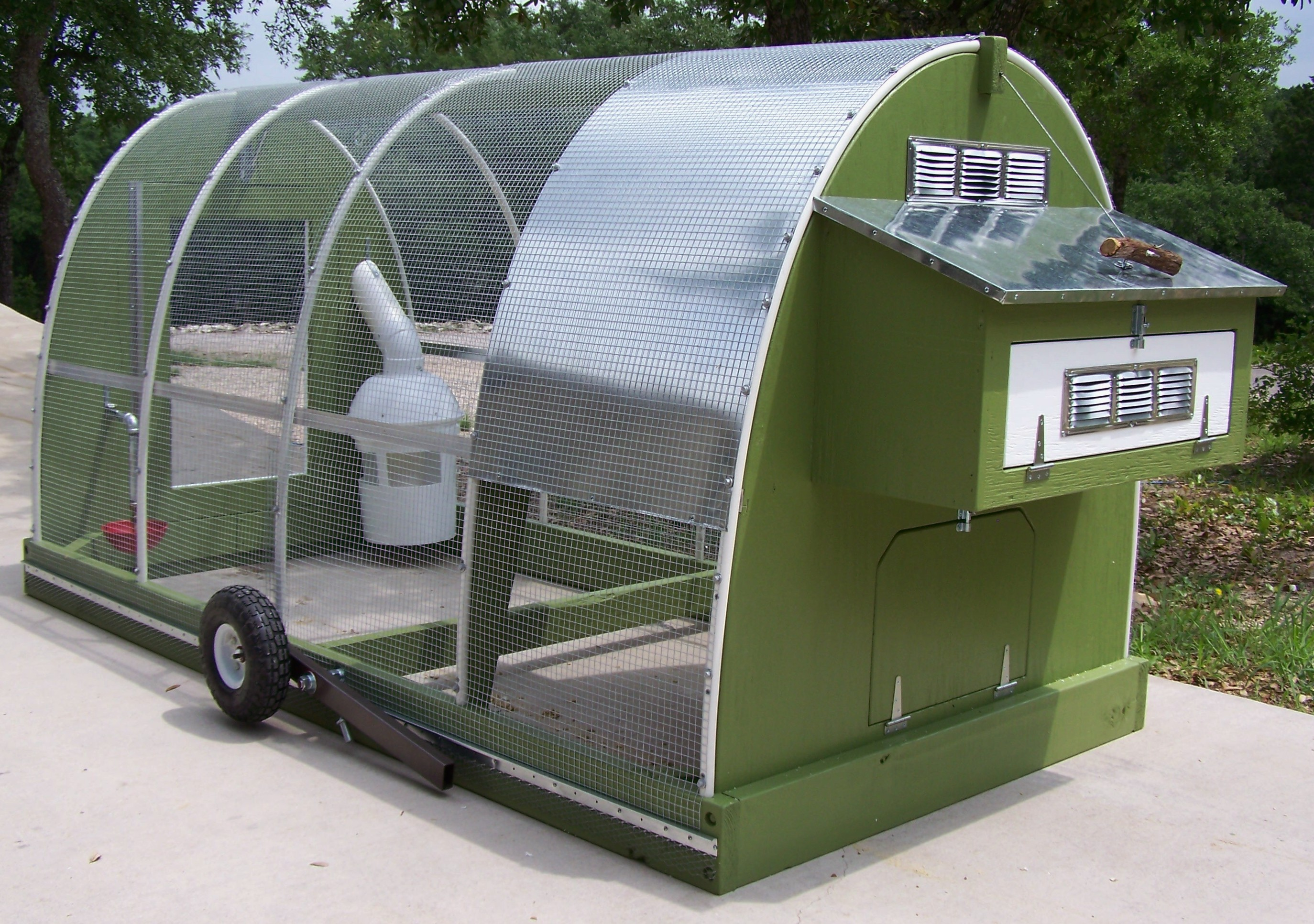 Pin Mobile Chicken Coop Coopdynasty On Pinterest